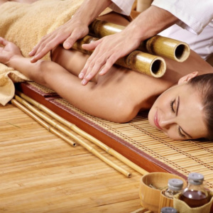bamboo massage